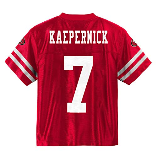 Colin Kaepernick San Francisco 49ers Red Home Player Jersey Youth (Medium 8/10)