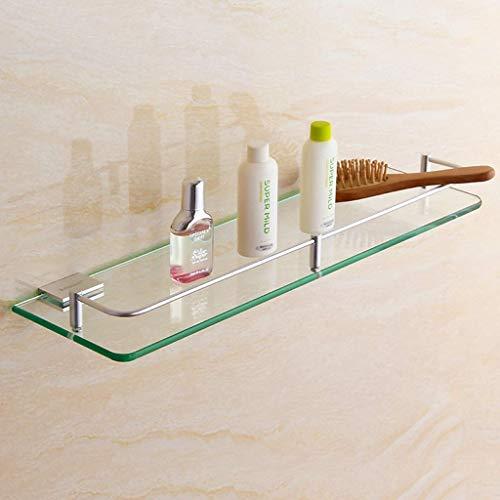 Badplank, douchebak, badmand, plank, Homesiel, dik gehard glas, aluminium 4.4 (grootte: 50cm) 250 cm.