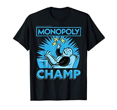 Monopoly Champ Money Toss Camiseta