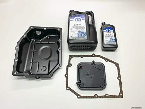 MOPAR Kit de maintenance et réservoir d'huile de transmission Wrangler 2003–2011 42RLE Transmission automatique
