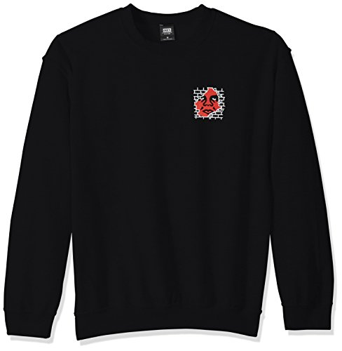 Obey Herren Big Boy Pants Basic Crew Neck Sweatshirt, schwarz, XX-Large