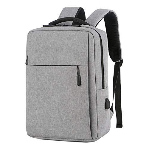 Waterproof Men's and Women's Backpack Bag School Travel Laptop Bag USB Charging Port
