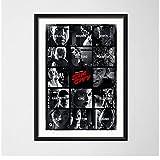 JLFDHR Sin City Filmplakate Und Druckkunstmalerei Vintage