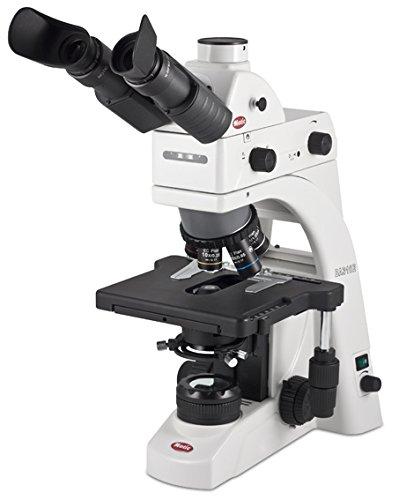 Mikroskop Motic BA-310 Elite Trinokularen Halogen mit Kit für Epi-Fluoreszenz FITC
