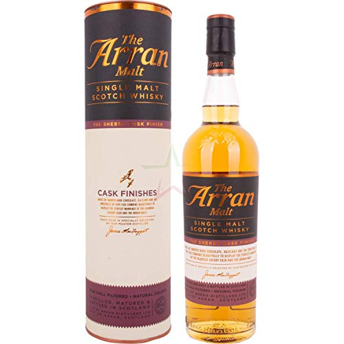 The Arran Malt The Sherry Cask Finish  Whisky (1 x 0.7 l)