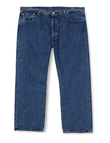 Levi's Big and Tall 501 Levi's Original B&T Jeans, Stonewash 80684, 4632L Homme