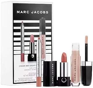MARC JACOBS BEAUTY Cream and Sugar Nude Lip Trio Set: Lipstick, Lip Liner and Lip Gloss