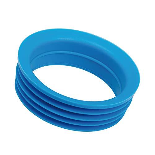 bremermann Bague en Silicone pour Carafe en Verre 1 Litre (Bleu)