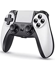 Wireless Game Controller for PS4/PS4 Slim/PS4 Pro, Replacement for PS4 Controller, Wireless Remote Gamepad Controller Compatible with Playstation 4 with headphone jack, Vibration, Motion Control