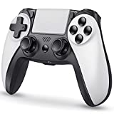 Kydlan Wireless Game Controller for PS-4/PS-4 Slim/PS-4 Pro, Gamepad Controller Compatible with Playstation 4 with Headphone Jack, Vibration, Motion Control, Wireless Remote Controller for PS-4