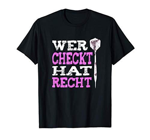 Darts Geschenk | für Damen - Frauen | Dart Trikot | Darts T-Shirt