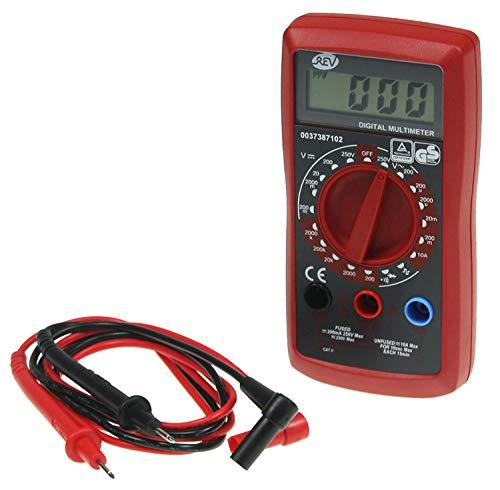 REV 0037387102 Multimeter , Spannung- Signal- Dioden- Polaritätsprüfung, rot