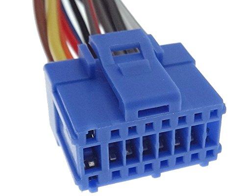 Pioneer Ersatz Kabel AVIC X1 X1BT X1R ISO Stecker 16-PIN BLAU Auto Radio Adapter