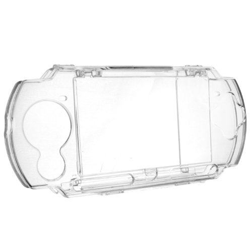 Insten Clip on Crystal Case Compatible With Sony PSP 3000, Clear