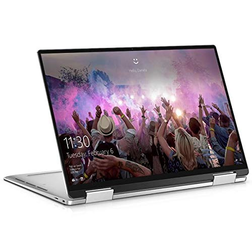 Dell XPS 13 7390 2-in-1, Silver, Intel Core i7-1065G7, 32GB RAM, 1TB SSD, 13.4' 3840x2400 UHD+, Dell 1 YR WTY + EuroPC Warranty Assist, (Renewed)