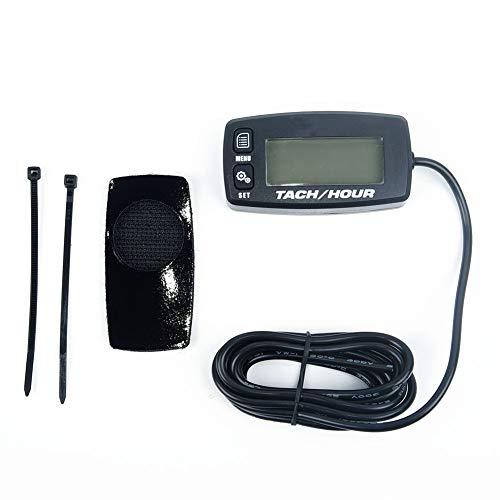 DXX-HR Tacómetro Motor de Motocicleta Medición de reemplazo Digital Accesorios LCD