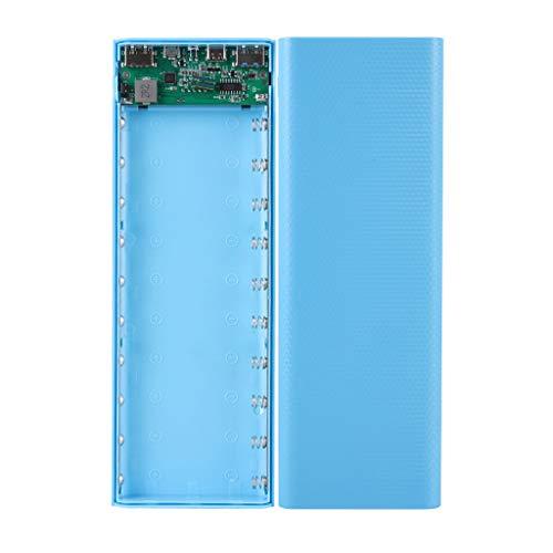 Meipai QC3.0 Dual USB Pantalla LCD 10x18650 Batería Case Power Bank Shell Caja de Carga