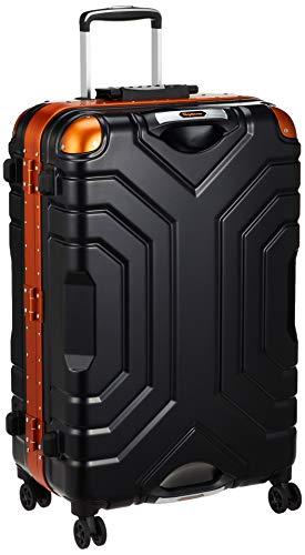 [シフレ] ハードフレームケース 大型 Lサイズ ESCAPE'S エスケープ GripMaster グリップマスター(実用新案登録済み) 1年保証付 83L B5225T-67 保証付 67 cm 5.6kg マットブラック/オレンジ