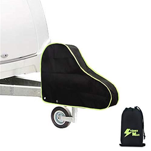 STÄRKEMAX Abdeckung für Anhänger Wohnwagen Deichsel Abdeckhaube UV-Schutz, Deichselhaube mit Tütchen