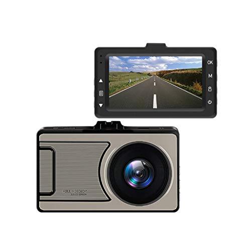WANG XIN Enregistreur de Conduite 1080P HD Programme combiné enregistreur de Vision Nocturne Grand Angle 170 degrés HD