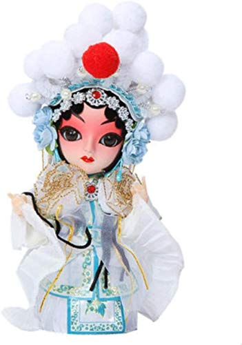 Mdcgok Yangzou 14 Cm Hecho a Mano Chino Antiguo Disfraz muecas de la pera de Pekn decoracin del hogar Boutique Regalo Escultura Personaje Juguete beb Regalos