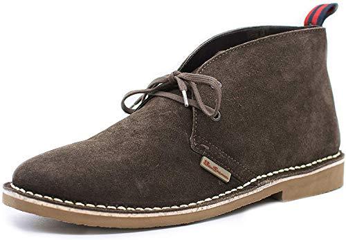 Ben Sherman Herren Hunt Desert Boots, Braun Schokolade Wildleder 141, 42 EU