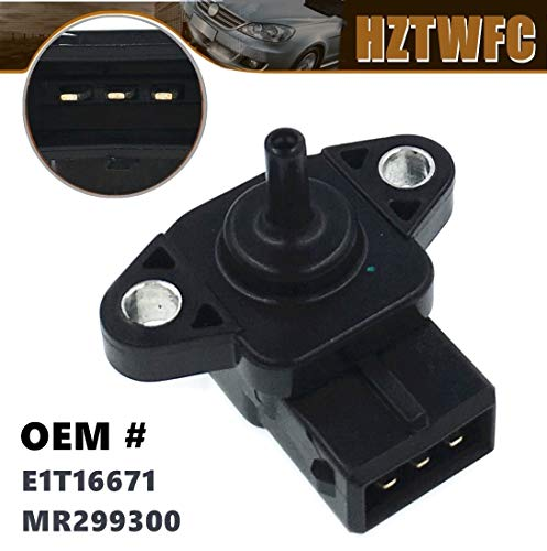 HZTWFC Sensore MAP sensore pressione aria aspirata OEM # E1T16671 MR299300