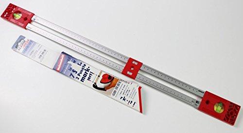 ALARM Wasserwaage Aluminium Alu + Markierungshilfe Markierhilfe Waage VIRAX SOLA