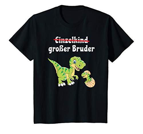 Kinder Großer Bruder TShirt Jungen Dinosaurier Geschenk Shirt T-Rex T-Shirt