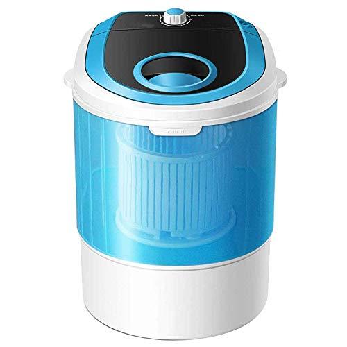 Kücheks Lavadora y Secadora rotativa portátil para niños Dos en uno, Material de PP y función de esterilización con luz Azul, 4.8 kg de Gran Capacidad 2 kg de deshidratación
