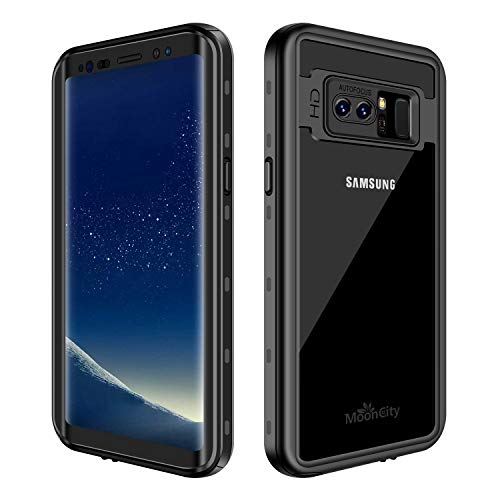 Waterproof Case for Galaxy Note 8, IP68 Waterproof Snowproof Shockproof and Dustproof Cover Case, Underwater Full Sealed Cover Case for Samsung Galaxy Note 8, 6.3 inch