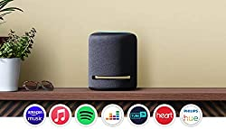 Immersive sound: 5 speakers produce powerful bass, dynamic midrange and crisp highs. Dolby Atmos technology adds space, clarity and depth. Ready to help: ask Alexa to play music, read the news and answer questions. Voice control your music: stream so...
