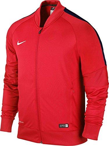 Nike Herren Jacke, Jacke Sideline Knit Squad 15, Gr. XXL, Rot (Red/Dark Blue)