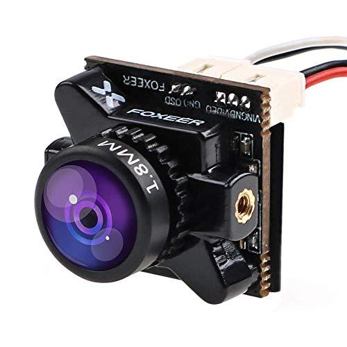 FPV Camera Foxeer Razer Micro Cam 1200TVL 1.8mm Lens 4:3 FOV 125 Degree PAL NTSC Switchable for Racing Drone Black