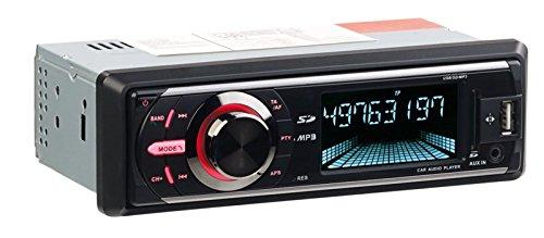 CREASONO MP3-Autoradio mit DAB+, Bluetooth, Freisprecher, USB und SD, 4X 50 Watt
