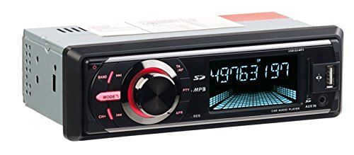 CREASONO 1 DIN Radio: MP3-Autoradio mit DAB+, Bluetooth, Freisprecher, USB & SD, 4X 50 Watt (DAB Autoradios mit MP3, Bluetooth)