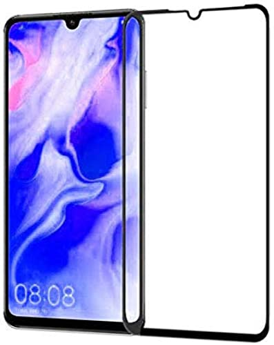 Pack of 2 11D 6D Black Full Screen Edge to Edge Tempered Glass for Huawei P30 lite Huawei P30 lite Edge to Edge Temper Glass By CanDeal Mart