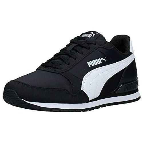 PUMA ST Runner v2 NL, Sneaker Unisex-Adulto, Nero Black White, 36 EU