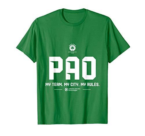 Teams - Panathinaikos OPAP Athens (green) T-Shirt