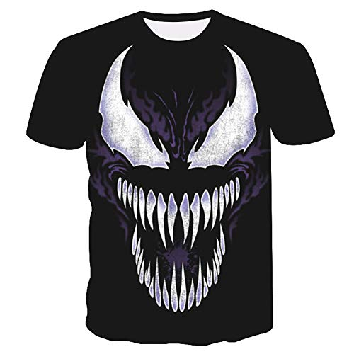 Venom Shirt,7d Venom Shirt Short Sleeve Shirts Casual Compression T Shirt