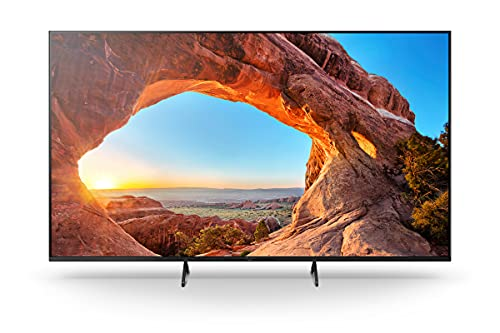 Sony KD-65X85J/P BRAVIA 164m (65 Zoll) Fernseher ( Android TV, 4K Ultra HD (UHD), High Dynamic Range (HDR), Google TV, Smart TV, 2021 Modell), Schwarz