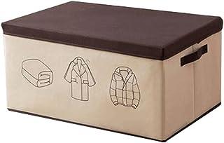 Lpiotyucwh Paniers et Boîtes De Rangement, 1pcs grande capacité vêtements de rangement de vêtements organisateur, boîte de...
