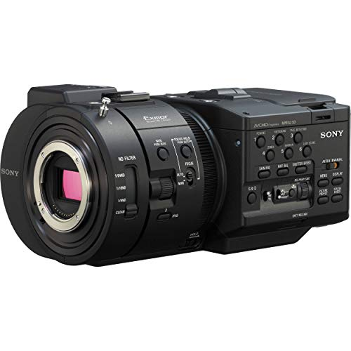 Sony Sony NEXFS700U 4K Sensor High Speed FS Series Camcorder Body, 1920x1080/60p Video, 3.5' LCD Screen with VF Attachment