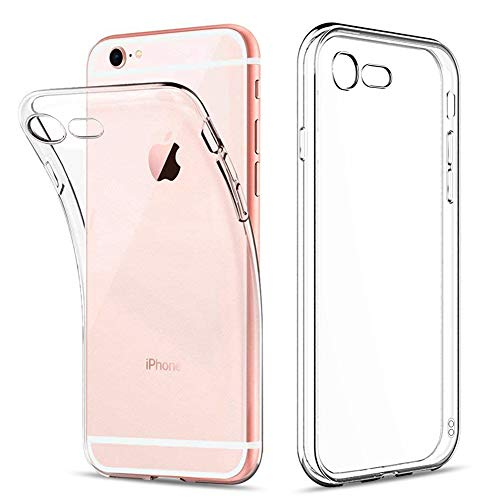 Amonke iPhone 6S Plus Hülle, iPhone 6 Plus Hülle - Silikon Transparent Weiche Durchsichtig Dünn Handyhülle mit TPU Stoßfest Fallschutz Bumper Slim Case Cover Schutzhülle Apple iPhone 6S/6 Plus 5.5\'\'