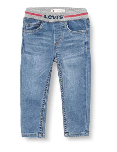 Levi's Kids Pantalones para Bebé-Niños - Lvb Pull-on Skinny Jean