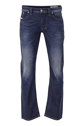 Diesel Herren Jeans 0853R Larkee Regular Straight Fit Blue (82) 32/34