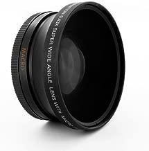 Digital King 0.43x 72mm Wide Angle Fisheye Lens with Macro - Black