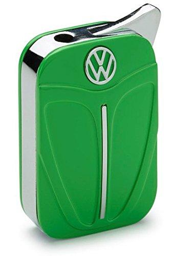 Volkswagen VW original Käfer/Beetle Feuerzeug in Geschenkbox - grün - Form Käferhaube