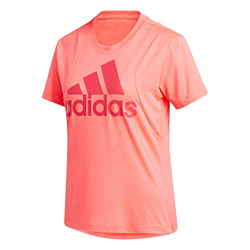adidas BOS Logo tee Camiseta, Mujer, rossen, XS