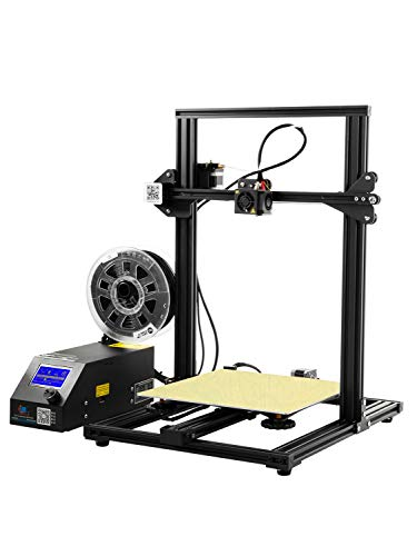 ZHQEUR Stylo d'impression 3D Grand Taille 300X300X400mm d'impression en Aluminium de l'imprimante Prusa de CR-10 3D avec Le lit chauffé Imprimante 3D